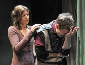 Jennifer Van Dyck as Ann and David Barlow as Stucley