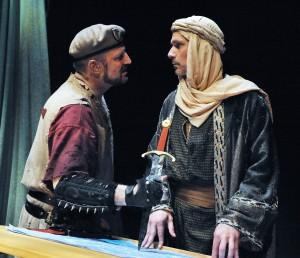 Steven Dykes as Batter and Quentin Maré as Krak
