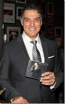 Backstage in the Dressing Room with Robert Cuccioli at Spiderman:Turn Off the Dark