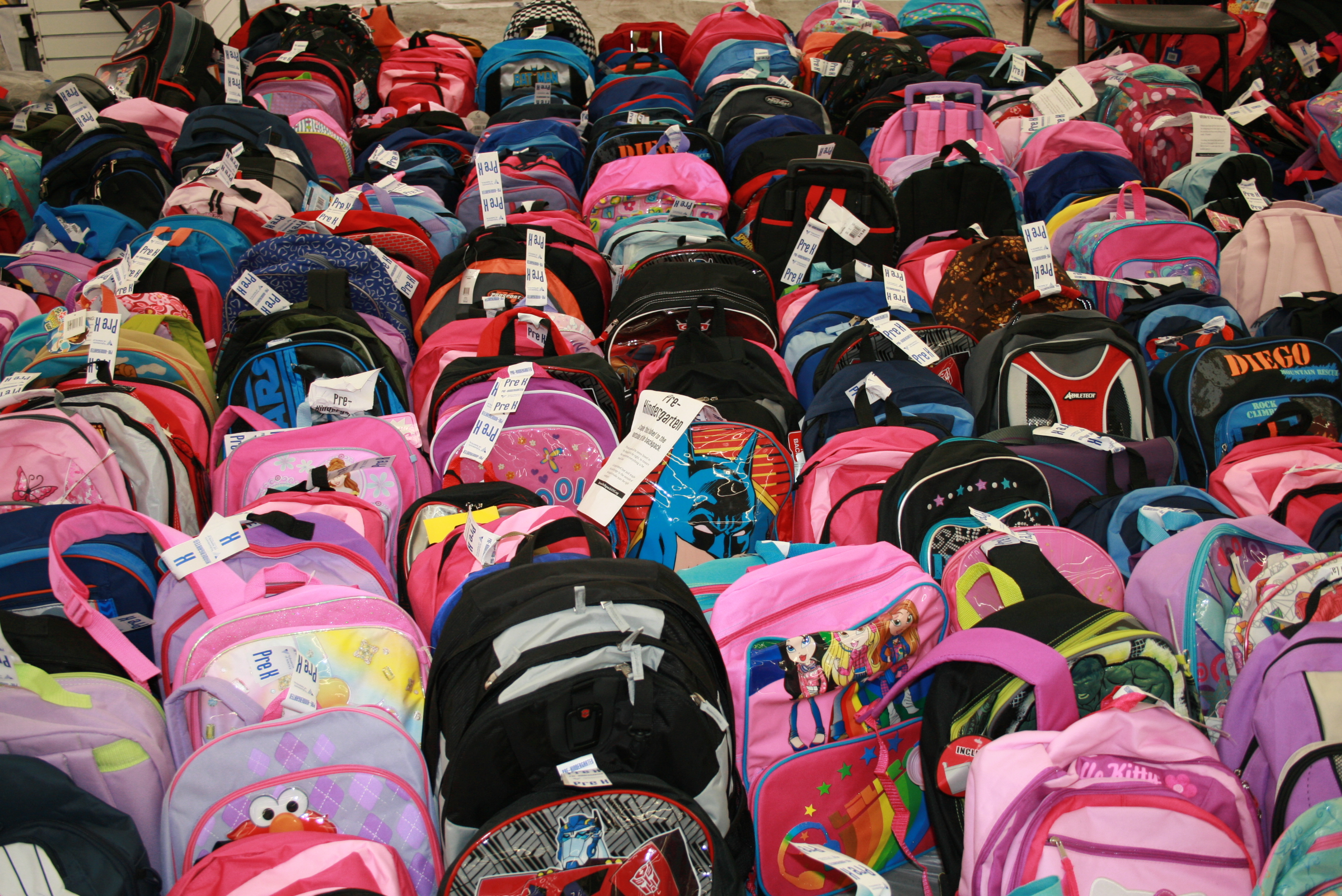 Operation Backpack Launches to Help NYC's Homeless Children
