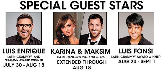 """""""Dancing with the Stars"""" duo Karina Smirnoff and Maksim Chmerkovskiy Extend in """"Forever Tango"""""""