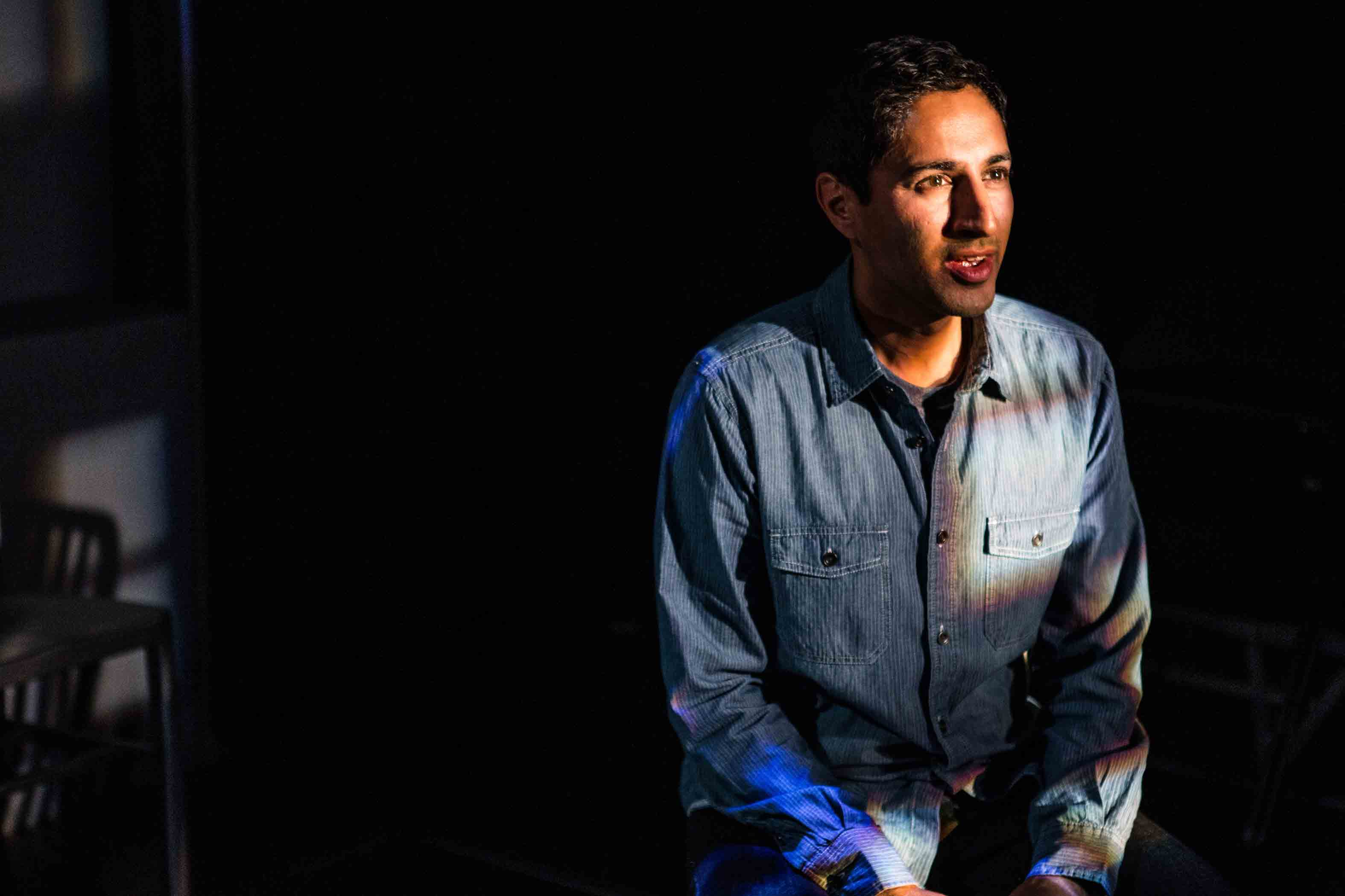 The Awake features Maulik Pancholy at 59e59 Theaters