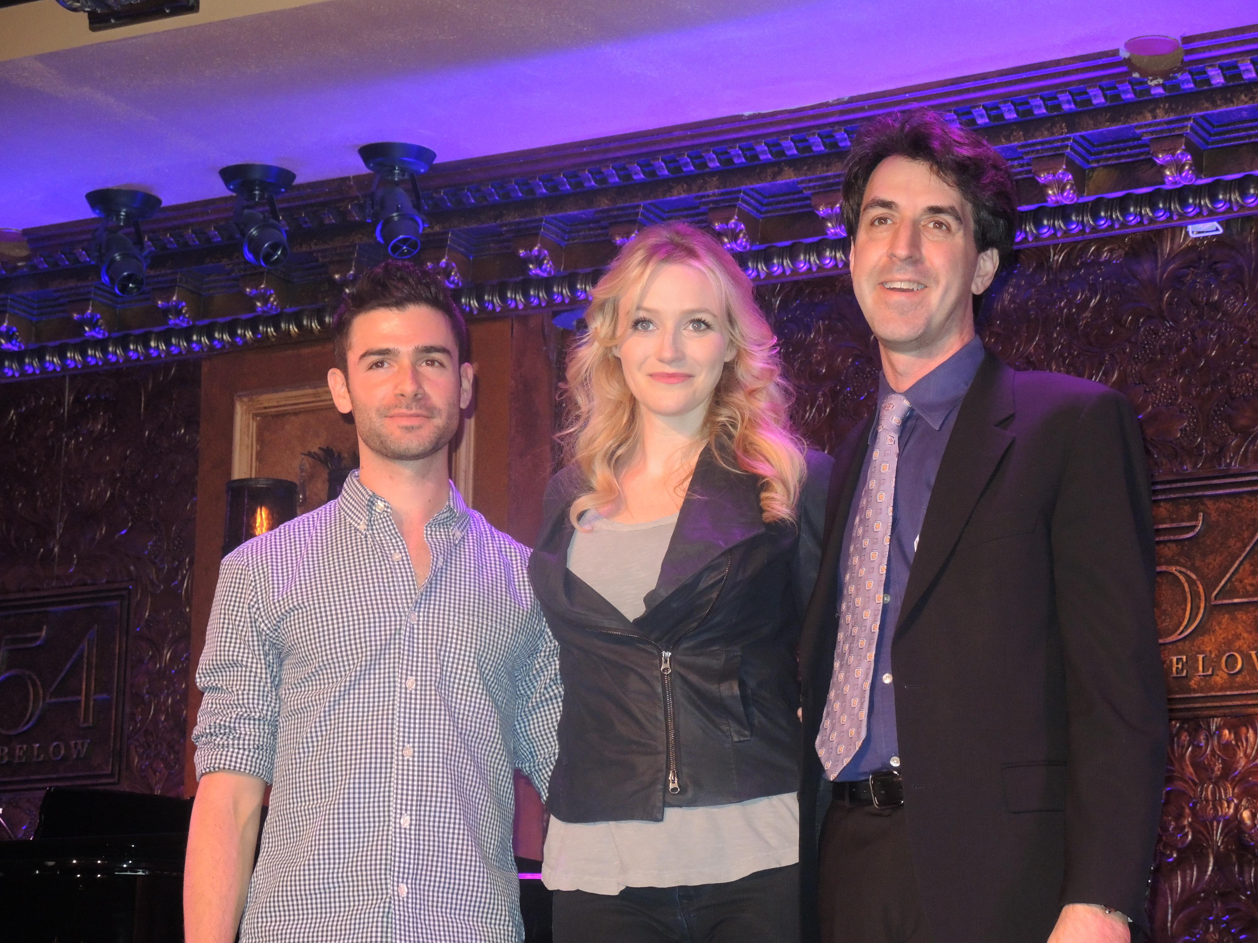 Jason Robert Brown Celebrates 'The Last 5 Years' – Betsy Wolfe & Adam Kantor