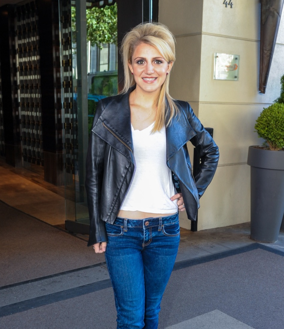 What was Kinky Boots star Annaleigh Ashford doing at the Empire Hotel?