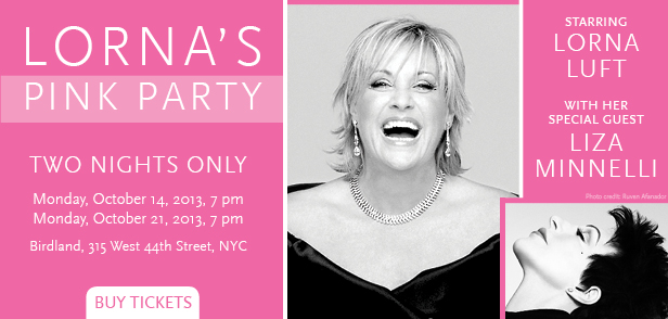 Lorna Luft & Liza Together for Actor's Fund Benefit at Birdland