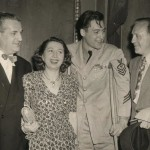 Ben B. Bodne,Mary Livingston, a soldier, Jack Benny