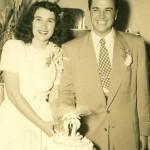 Renee Mae Bodne & Sidney Jack Colby, wedding day