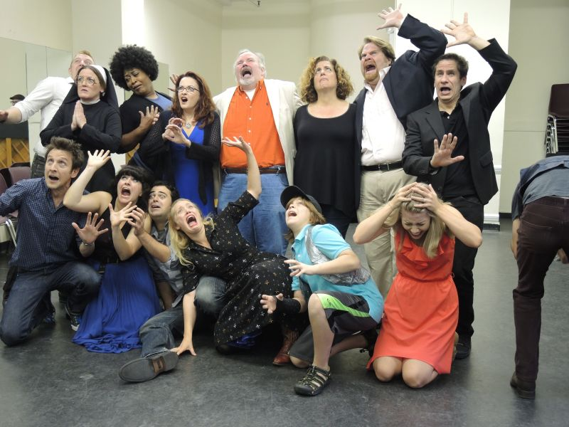Disaster! – The 70s Movie Musical Begins Previews  (rehearsal video/photos)