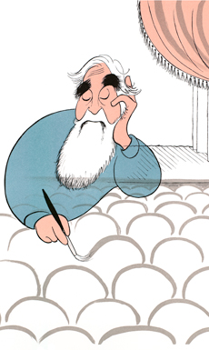 The Line King: A Crowning Achievement – Al Hirschfeld at Lincoln Center Library