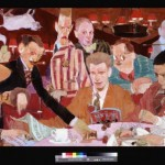 Roundtable Painting by Natalie Ascencios