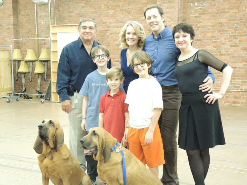 """Tony Award Nom """"A Christmas Story the Musical"""" in NYC (rehearsal video/interviews)"""