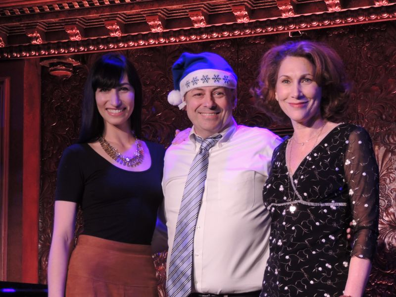 The Graff Family Plans on Conquering 54 Below for the Holidays!