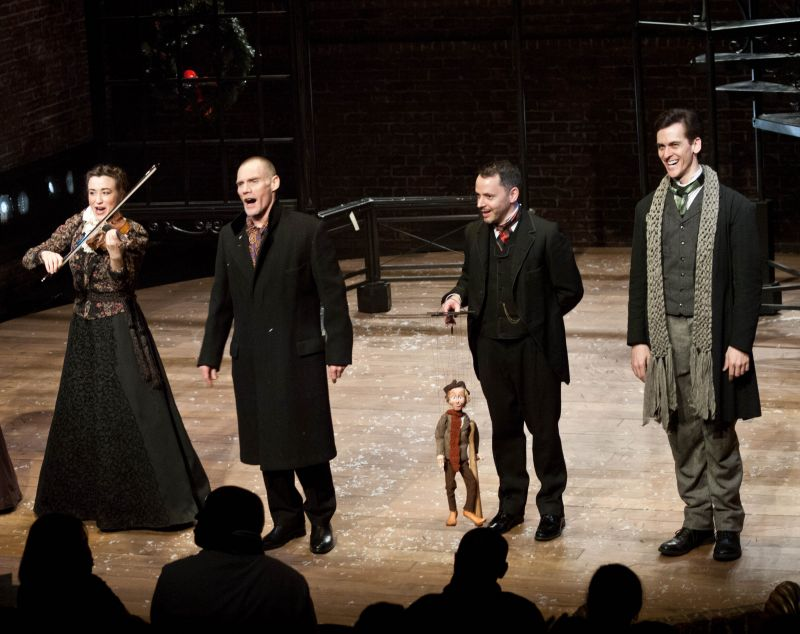A Christmas Carol Opens at St. Clement's with Peter Bradbury