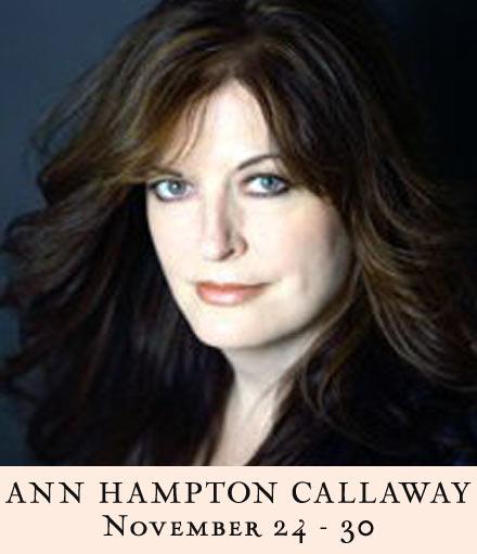 Ann Hampton Callaway: Songs I Wish I'd Written