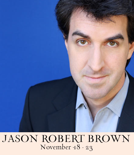 Jason Robert Brown at 54 Below Is Crossing Another Bridge