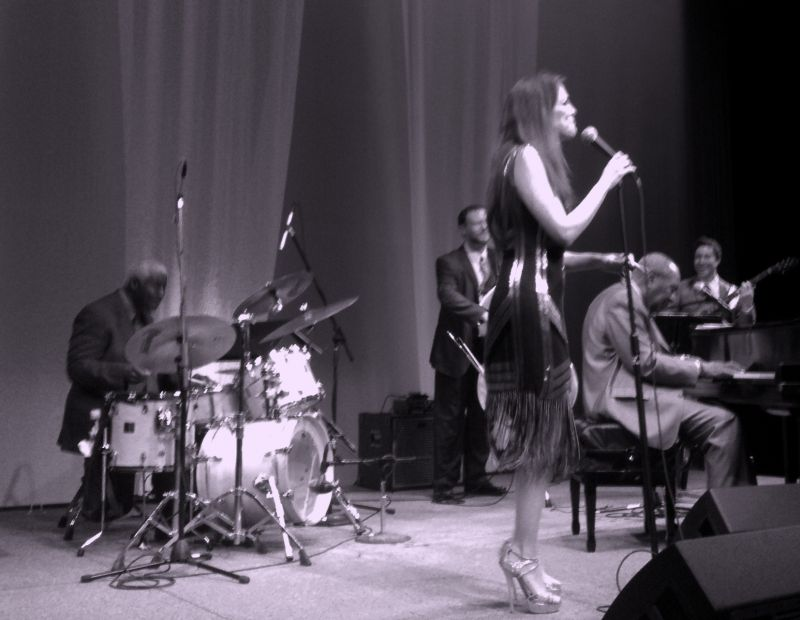 """At the Palace in Stamford with """"Perfect Pairs"""" Hilary Kole & Freddy Cole"""