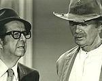 Phil Silvers, Buddy Ebsen. ℅ CBS TV