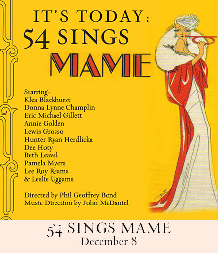 It's Today:  54 Sings Mame