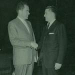 Richard Nixon & SIdney Colby