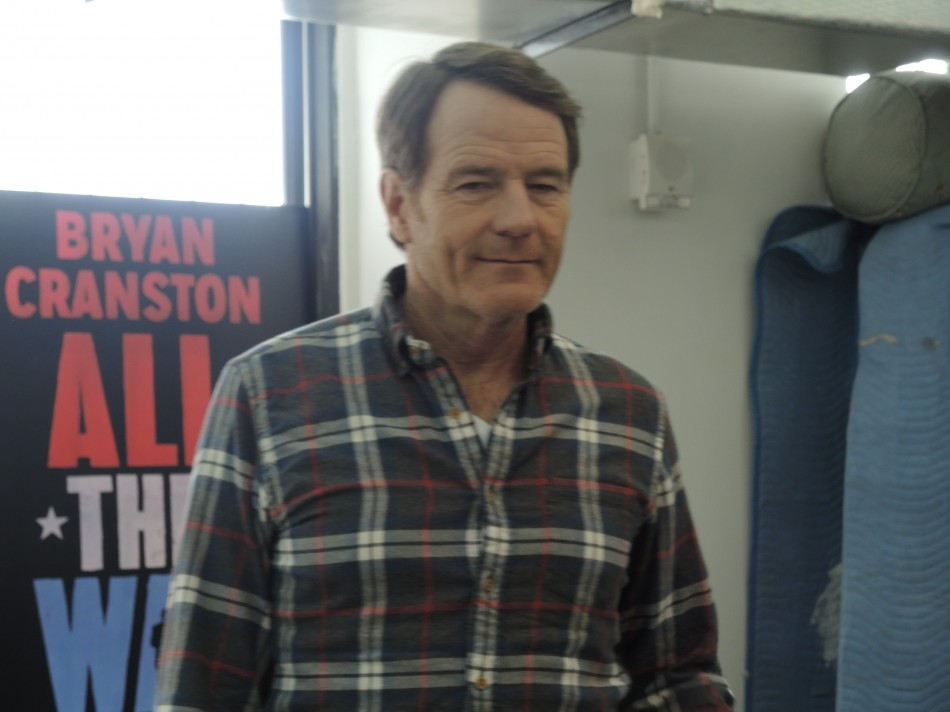 Bryan Cranston Comes 'All the Way' to Broadway