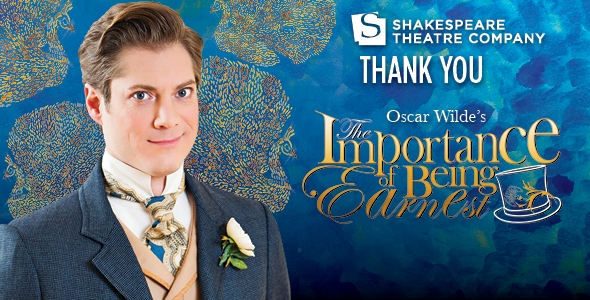 The Importance of Being Earnest – Lansburgh Theatre, Wash. DC