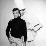 Rudi Gernreich & Peggy Moffitt. Photo: William Claxton