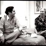 Eudora Welty & Reynolds Price @ Algonquin. Photo: Jill Krementz
