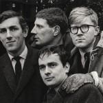 BEYOND THE FRINGE cast: Peter Cook, Jonathan Miller, Dudley Moore, Alan Bennett