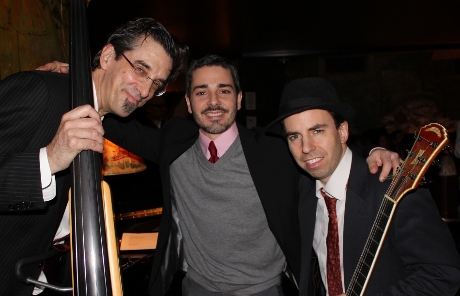 The Eric Yves Garcia Trio at the Carlyle