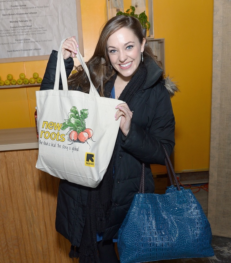 Broadway Baby Laura Osnes Stops by Fashion Week