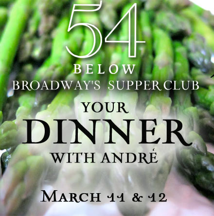 'Your Dinner with Andre' – 54 Below Dining with Cady Huffman
