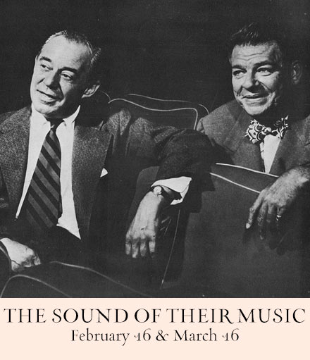 The Sound of Their Music:  Rodgers & Hammerstein