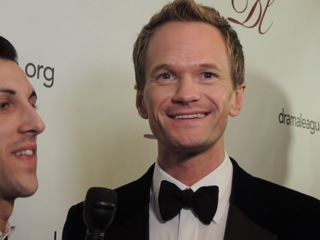 Neil Patrick Harris Honored by Drama League