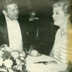 Angela Lansbury at Algonquin with NYC Mayor John Lindsay