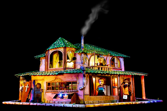 The House –Imaginative, Gothic Puppetry