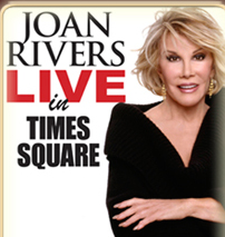 A Becoming Legend: Joan Rivers Plays Laurie Beechman Theater