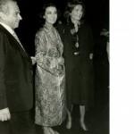 Michael Cacoyannis, Irene Papas, Jackie Kennedy Onassis