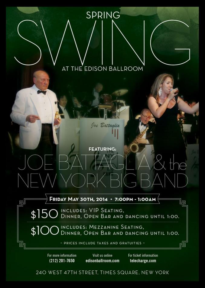 Dining, Dancing, Romancing at Edison Ballroom
