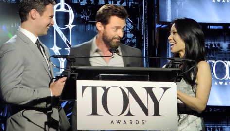Full Video -Tony Nominations 2014 with Lucy Liu, Jonathan Groff