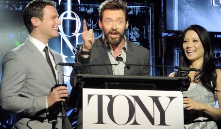 2014 Tony Award Nominations Gets Special Visitor-Hugh Jackman