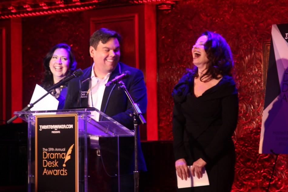 Drama Desk Nominations Announced by Fran Drescher, Robert Lopez, Kristen Anderson-Lopez