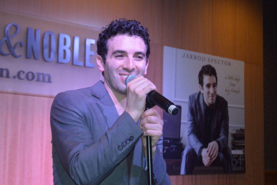 "Jarrod Spector Celebrates at B&N with ""A Little Help From My Friends"""