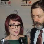 Megan Mullally & Nick Offerman, hosts
