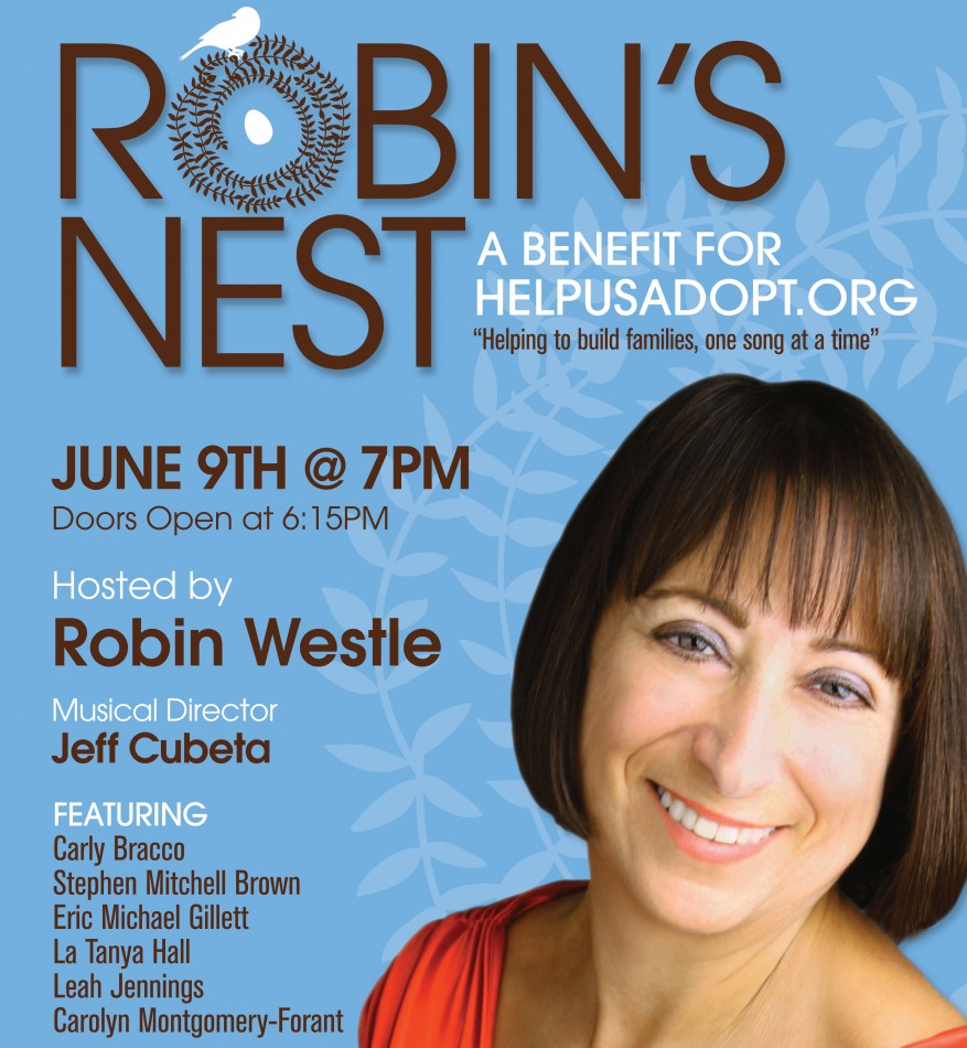 Robin's Nest – HelpUsAdopt.org – New Benefit Series