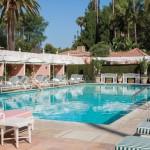 Beverly Hills Hotel - Poolside & Cabanas