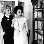 Barbara Stanwyck & Shirley Eder