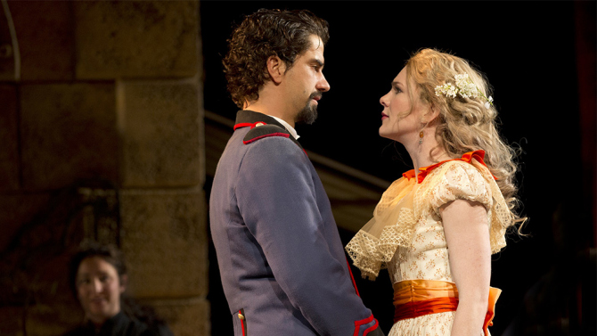 Much Ardor For Much Ado – John Glover, Hamish Linklater, Lily Rabe, 'Stokes'