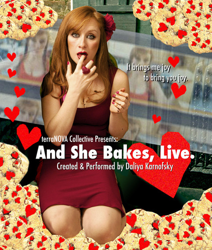 Savory ​& Sweet: And She Bakes, Live!