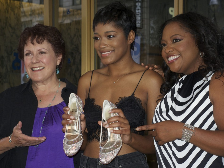 Cinderella's Keke Palmer, Sherri Shepherd and Judy Kaye Step into History