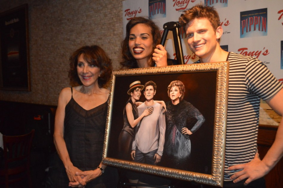 Portrait Unveiling – Tony Winner Andrea Martin & Cast of Pippin